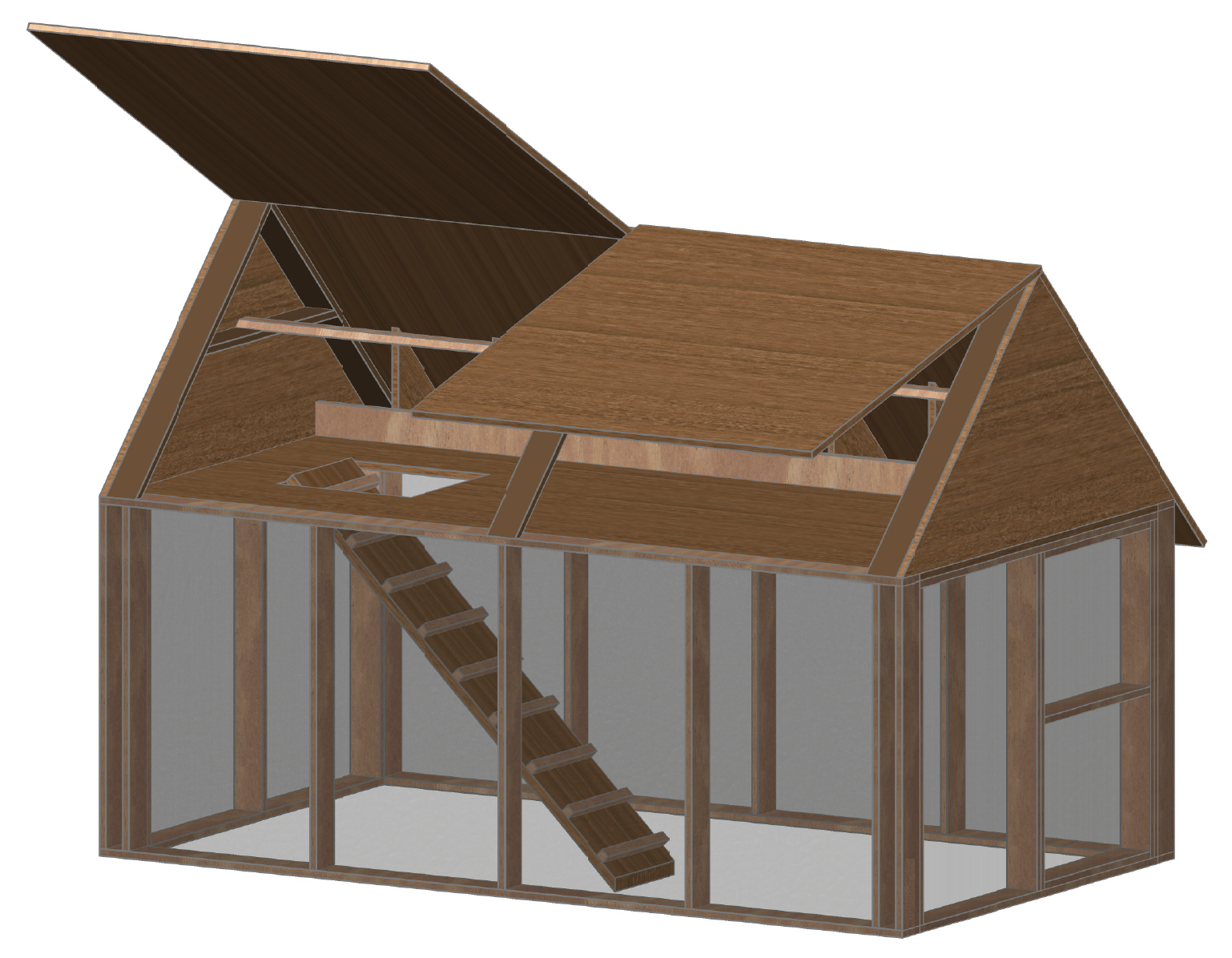 Building a chicken coop building your own chicken coop for Coop house plans